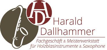 Harald  Dallhammer  Fachgeschäft g Meisterwerkstott  für Ho/zb/asinstrumente g Saxophone