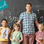 """Kostenloses Webinar """"Fachfremd Musik unterrichten in der Grundschule"""""""