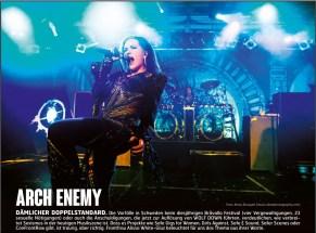 Arch Enemy, Fuze Magazin 66 OCT/NOV 17, http://fuze-magazine.de