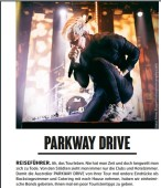Parkway Drive, Fuze Magazin 63 APR/MAY 17, http://fuze-magazine.de
