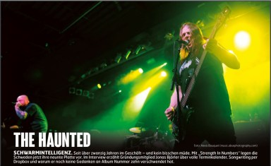 The Haunted, Fuze Magazin 66 OCT/NOV 17, http://fuze-magazine.de