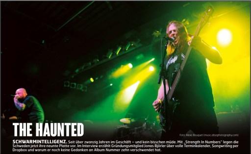 The Haunted, Fuze Magazin 66 OCT/NOV 17, http://fuze-magazine.de