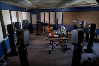Bowling Green State University's 10.2 multi-channel/first order Ambisonic studio