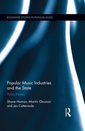 Professor Martin Cloonan introduces 'Popular Music Industries and the State: Policy Notes'