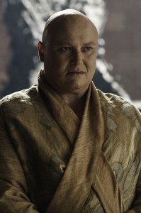 Our favourite eunuch, Varys from Game of Thrones