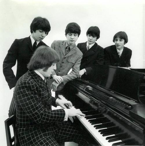 The Buckinghams 1967: Marty Grebb at piano, Nick Fortuna, Carl Giammarese, Dennis Tufano, John Poulos