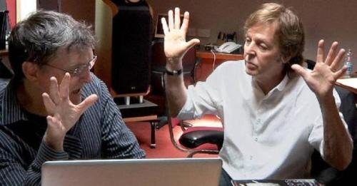 Martin O'Donnell and Paul McCartney