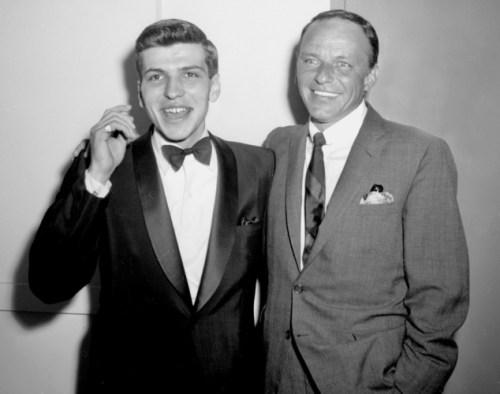 Frank Sinatra Jr. and Sr., 1963