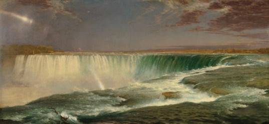 Фредерик Эдвин Черч. Ниагарский водопад (1857) (National Gallery of Art, Washington)
