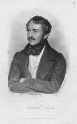 Портрет Николауса Ленау (из Gedichte. Stuttgart und Augsburg, Cotta, 1856)
