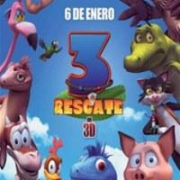 Se estrena en la Rep. Dom. película animada 3 Al Rescate
