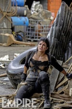 """Gina Carano en """"Deadpool""""."""