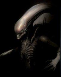Imagen de un Xenomorphs, del universo de Alien.
