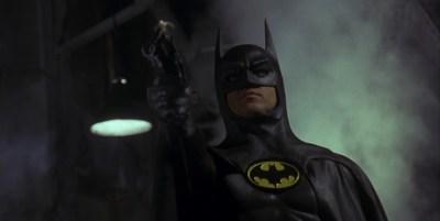 """Michael Keaton en """"Batman"""" (1989)."""