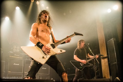 Airbourne October 16 2014. Photo by Jean-Frederic Vachon