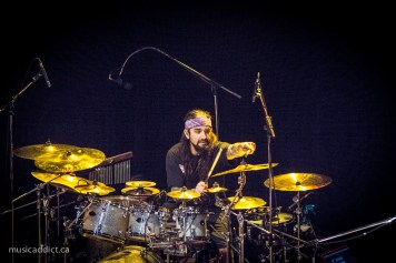 Mike Portnoy (Neal Morse Band Montreal February 25 2015 - Photo by Jean-Frederic Vachon)