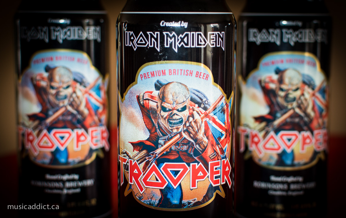 Scream for me beer lovers: Iron Maiden's Trooper Ale reviewed