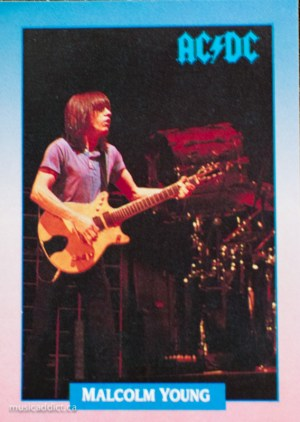 The heart and soul of AC/DC, Malcolm Young.