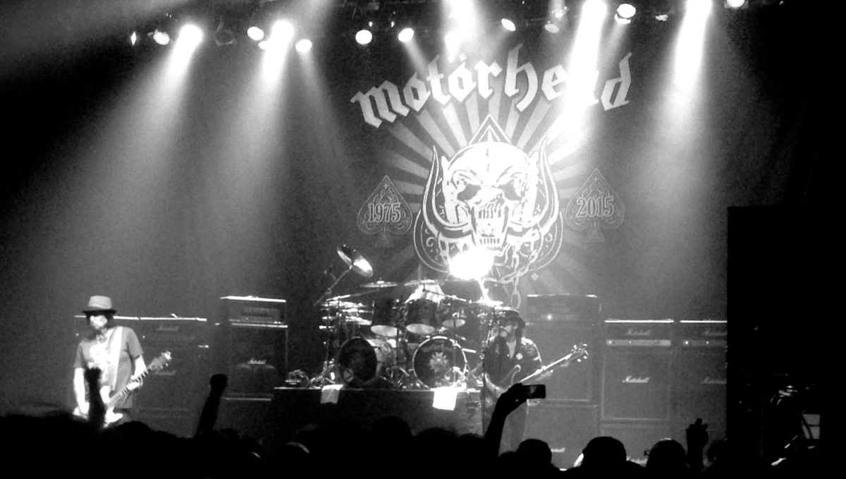 Concert review: Motörhead with Anthrax - L'Olympia, Montreal - September 18 2015