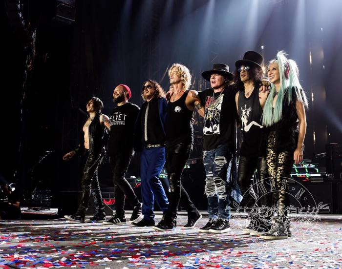 Guns n' Roses - Toronto (Photo credit: official GNR Facebook page)
