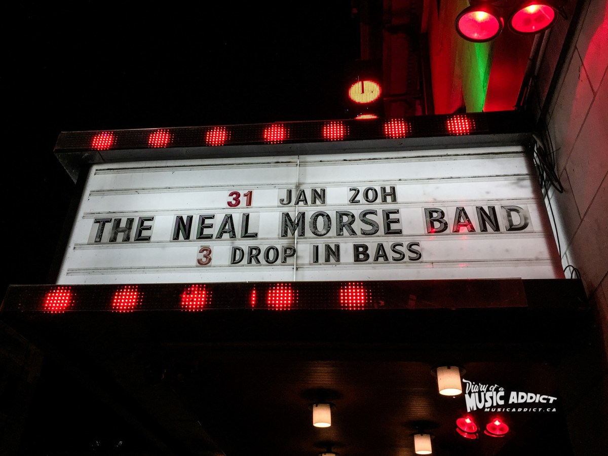 Concert review: Neal Morse Band - Club Soda - Montreal - January 31st 2017
