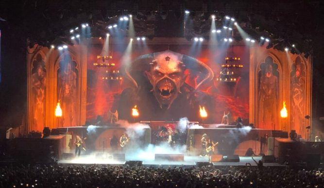 Iron Maiden - Vancouver - September 3rd 2019