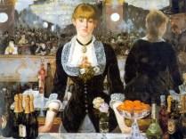 """""""Un bar del Folies Bergère"""" (1882), óleo de Édouard Manet."""