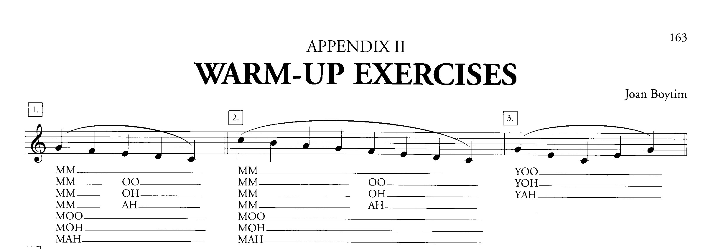 Resource Vocal Warm Ups And Sight Reading Exercises