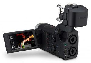 Q8: Gravador de áudio de quatro trilhas + vídeo HD