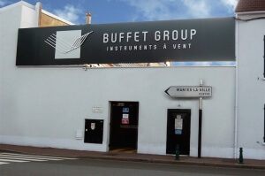Tradicional sede do Buffet Group na França
