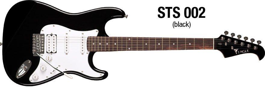 guitarra STS-002-BK-01