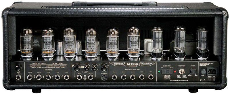 Valvulas do amplificador Mesa Boogie dual rectifier