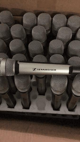 Counterfeit Sennheiser Microphones copia