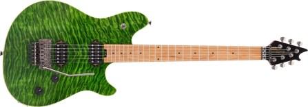 EVH Wolfgang Standard QM Transparent Green