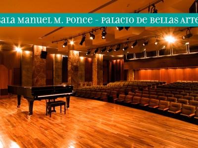 Sala Manuel M. Ponce del Palacio de Bellas Artes