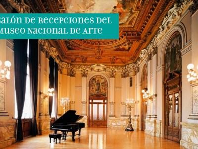 Salón de Recepciones del Museo Nacional de Arte