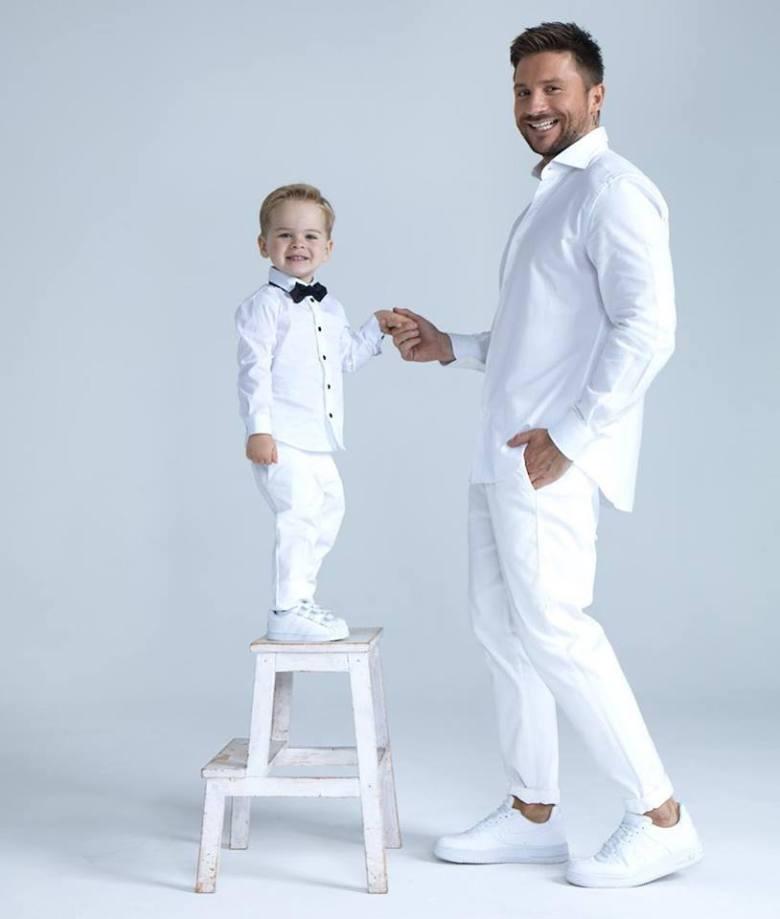 Sergey Lazarev e il figlio Nikita