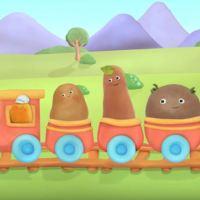 SMALL POTATOES - un divertente cartone animato per imparare l'inglese, protagonista un gruppo di patate canterine in arrivo su Rai Yoyo