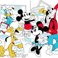 DISNEY - celebra la giornata mondiale dell'AMICIZIA e pubblica il sondaggio. Su shopDisney e Disney Store nuovi capi d'abbigliamento per adulti e offrono una serie di attività gratuite Destination of Imagination