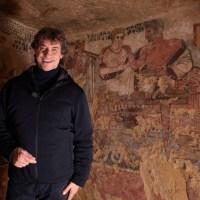 Alberto Angela - un viaggio nel mondo degli Etruschi per la nuova puntata di Ulisse su Rai1