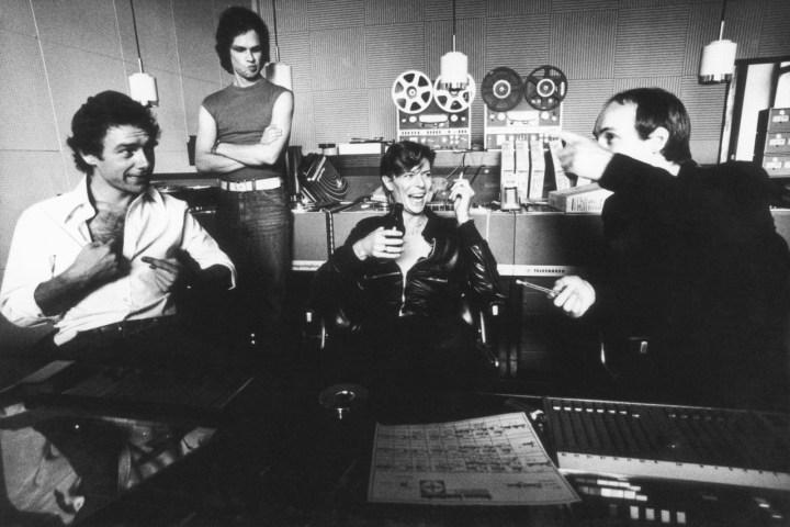 Fripp Visconti Bowie Eno