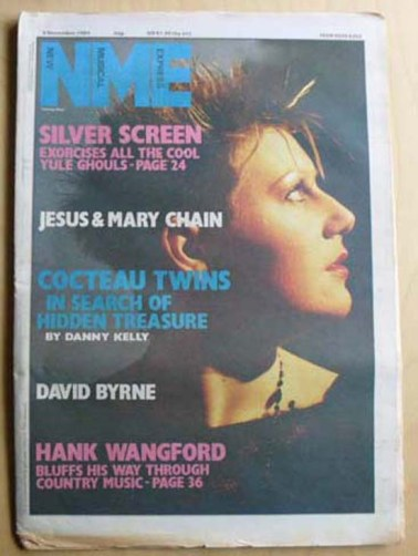 Cocteau Twins NME cover