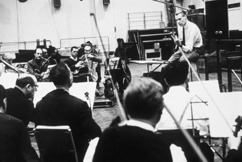 George Martin at Abbey Road, 1965