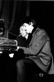 George Martin with Paul McCartney