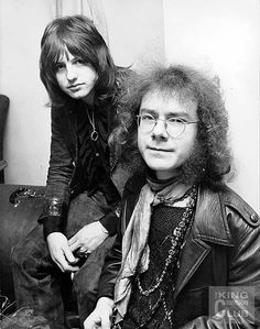 Greg Lake and Robert Fripp