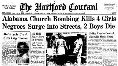 News clip after the bombings