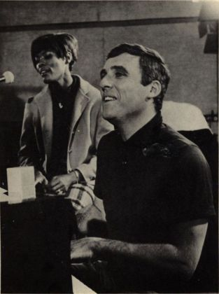 Burt Bacharach and Dionne Warwick