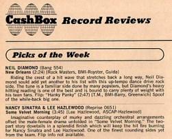 CashBox review of Some Velvet Morning 1967