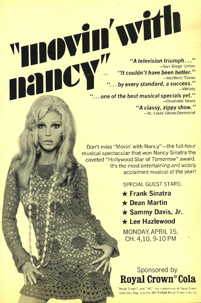 Movin With Nancy TV Guide Ad