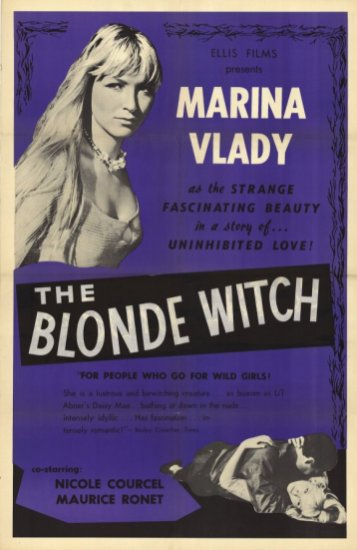 the blonde witch poster